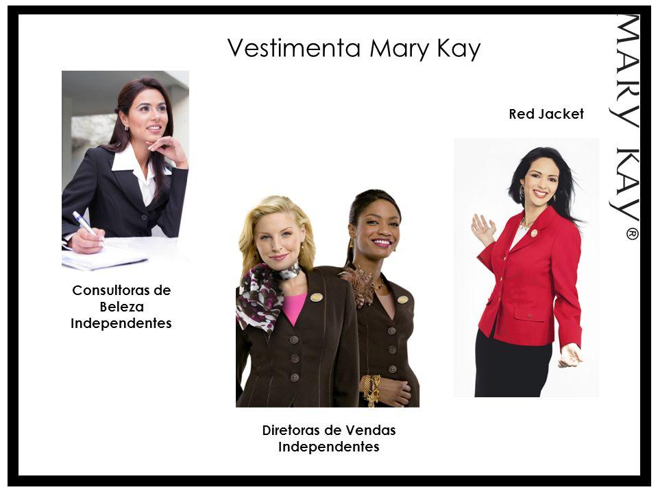 Vestimenta Mary Kay Diretoras de Vendas Independentes Red Jacket Consultoras de Beleza Independentes ®