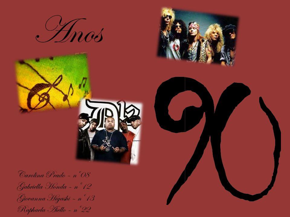 O estilo de música dos anos 90, pode ser definido como EuroDance, pois é um estilo de música que apareceu de uma maneira mais forte na Europa, logo após foi para os Estados Unidos, no qual não fez muito sucesso, e depois de um certo tempo se abrangeu pelo mundo inteiro.