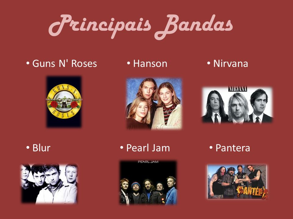 Rage Against The Machine Faith No More Radiohead Red Hot Chili Peppers