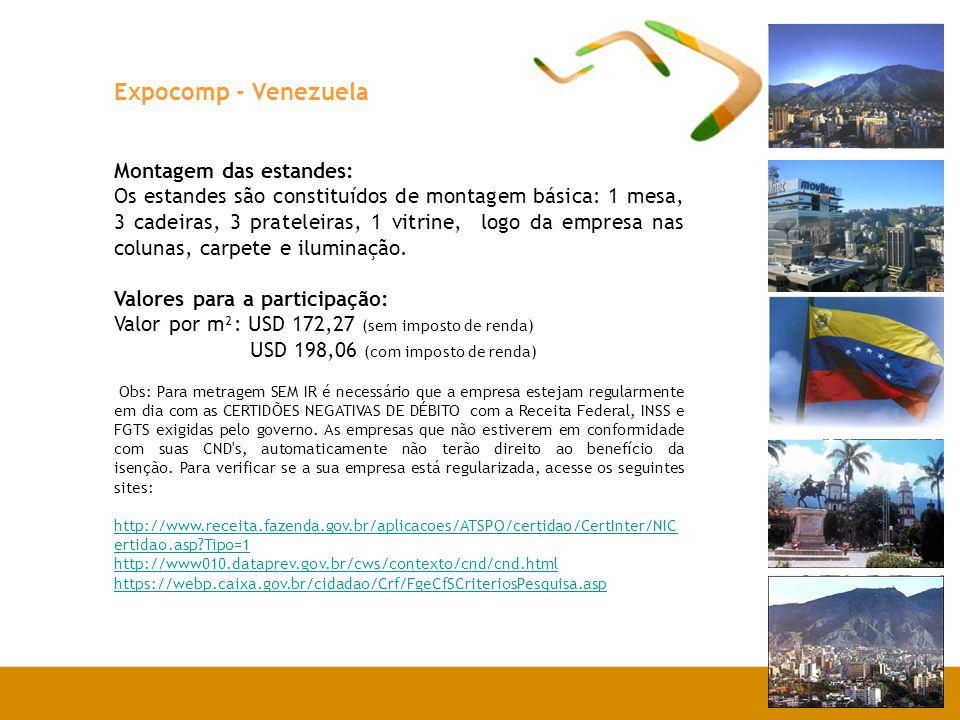Expocomp - Venezuela Você sabia.