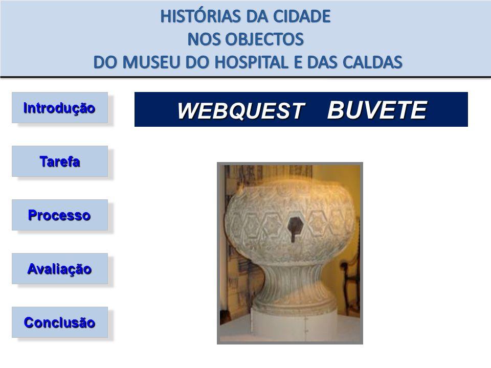 Introdução Tarefa Processo Avaliação Conclusão WEBQUEST BUVETE