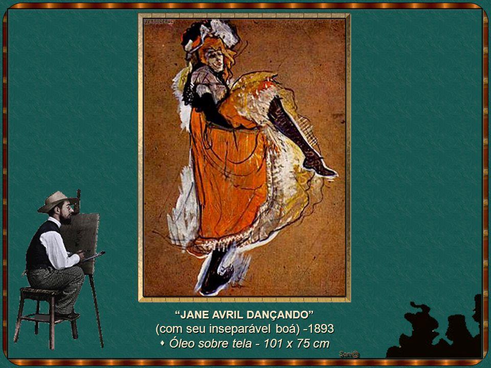 SOZINHA, SOZINHA, de 1896 - óleo sobre cartão - 131 x 90 cm