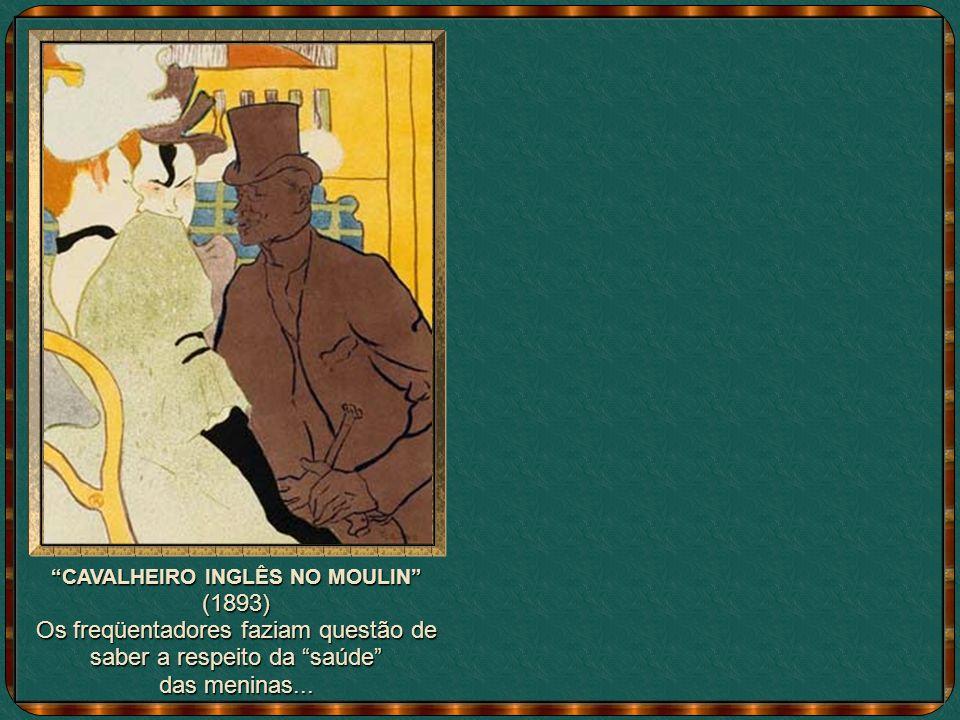 Lautrec descansa ao lado da mãe - que sempre o apoiou - no chateau de Malrone, em 1900.