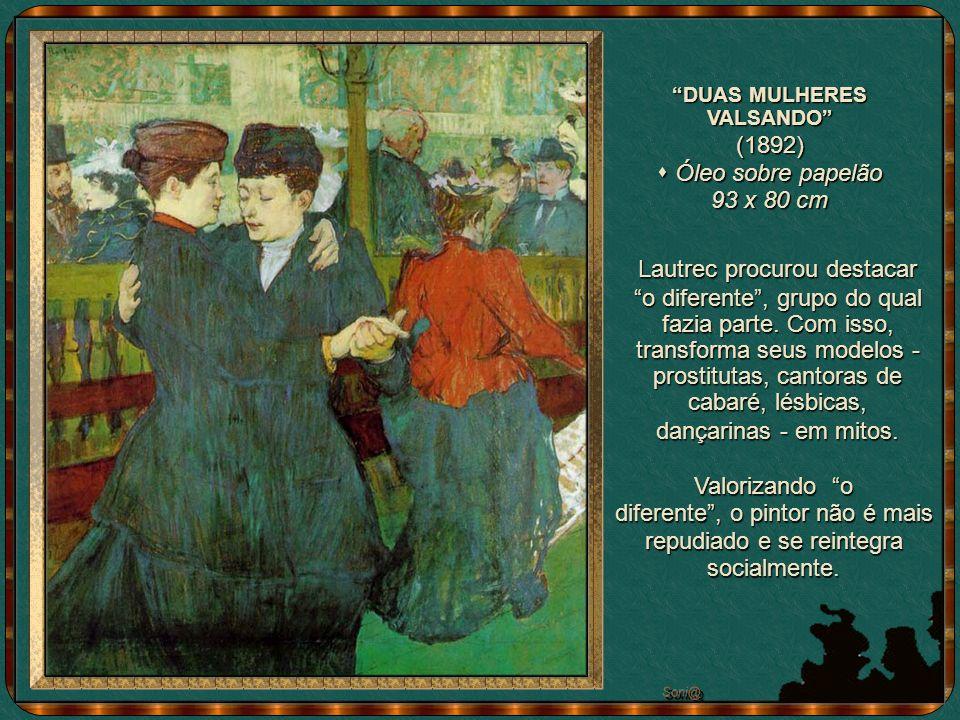 A INSPEÇÃO MÉDICA (1894) Óleo sobre tela - 101,5 x 132 cm CAVALHEIRO INGLÊS NO MOULIN (litografia de 1893) Os freqüentadores faziam questão de saber a respeito da saúde das meninas...