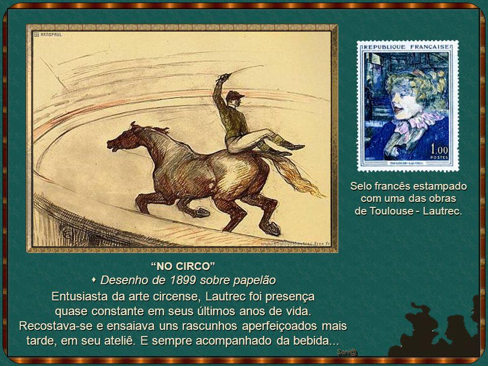 Das caricaturas, talvez esta seja a mais famosa porque expõe a própria família Celeyram ao ridículo (a bico de pena).