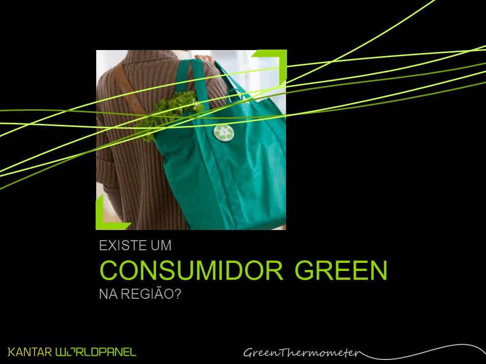 EXISTE UM CONSUMIDOR GREEN NA REGIÃO?