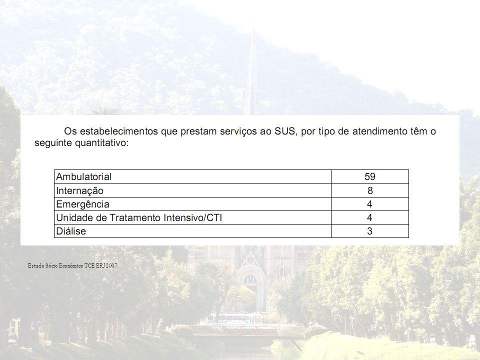 Estudo Sócio Econômico TCE ERJ 2007