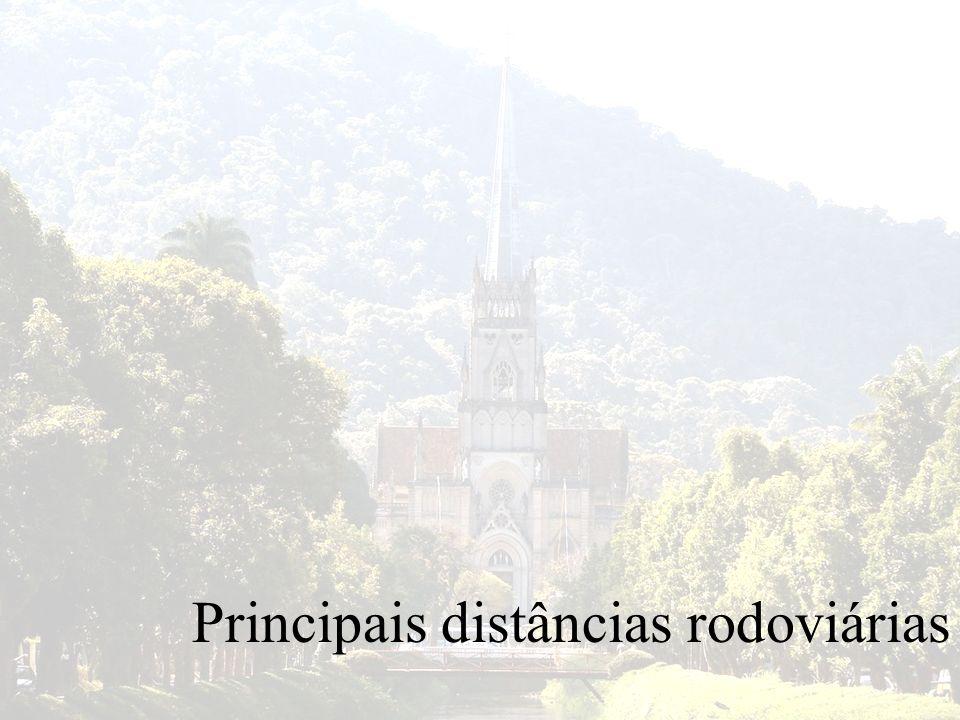 Principais distâncias rodoviárias