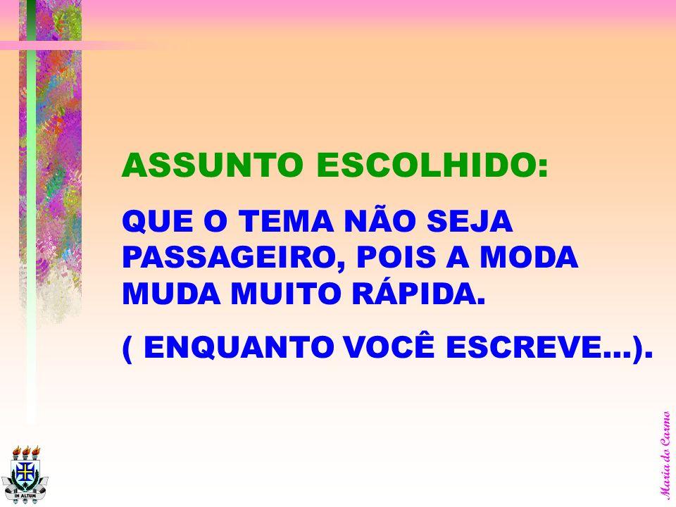 Maria do Carmo CUIDADO: COM OS PRAZOS E SUAS ETAPAS. VALE DIZER QUE NÃO TEM PRORROGAÇÃO. É NAQUELE SEMESTRE E PRONTO.