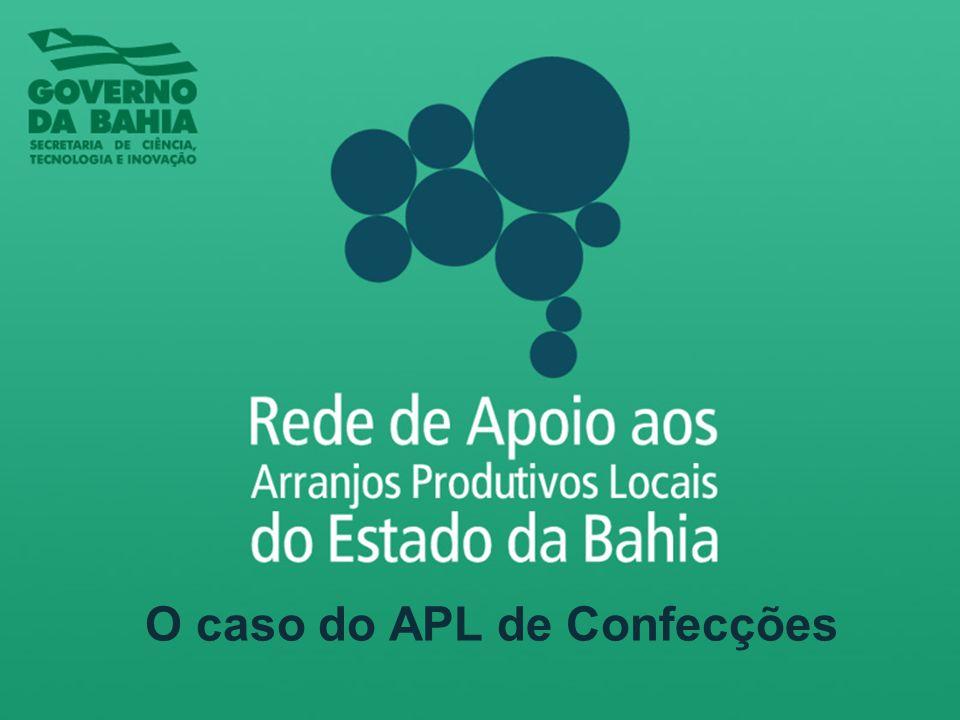 APLs Selecionados pela Rede de Apoio aos Arranjos Produtivos Locais 1.