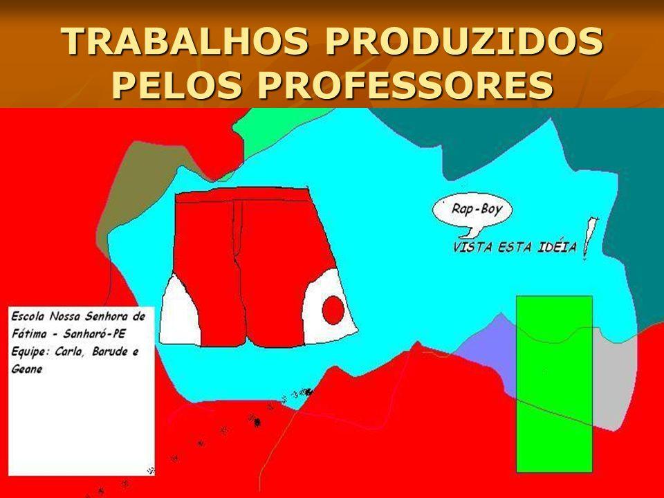 TRABALHOS PRODUZIDOS PELOS PROFESSORES