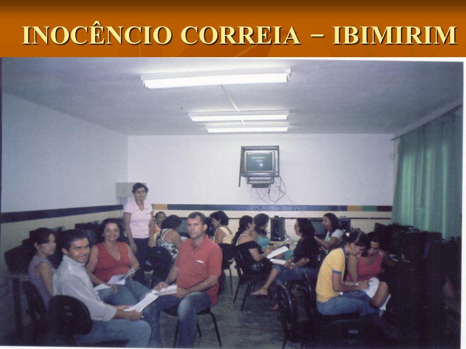 INOCÊNCIO CORREIA – IBIMIRIM