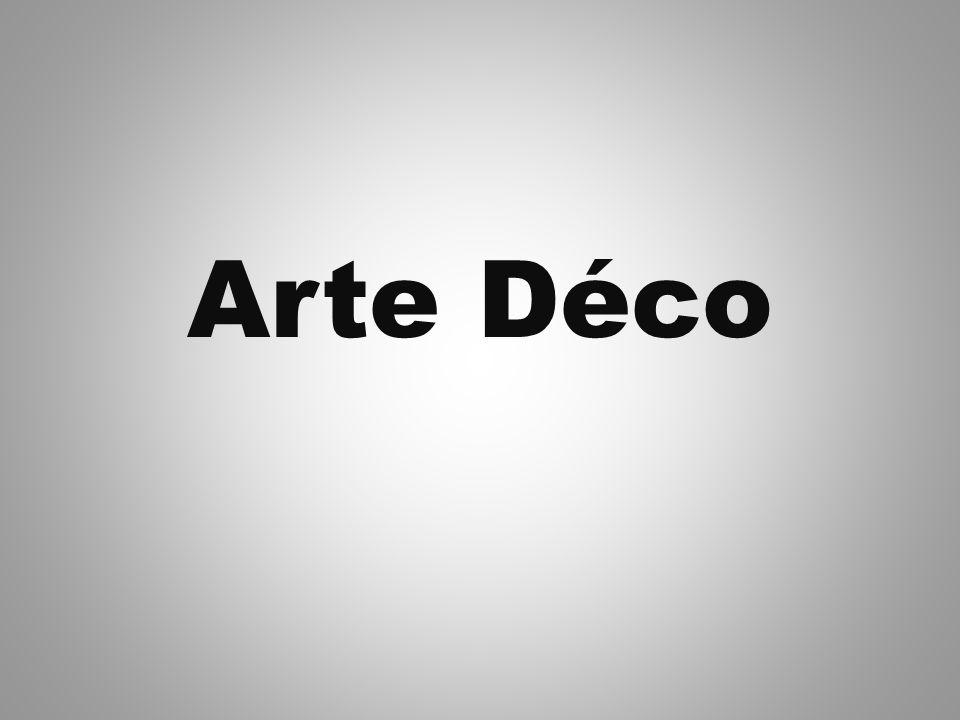 Art déco foi um movimento popular internacional de design de 1925 até 1939, que afectou as artes decorativas, a arquitectura, design de interiores e desenho industrial, assim como as artes visuais, a moda, a pintura, as artes gráficas e cinema.Este movimento foi, de certa forma, uma mistura de vários estilos (ecletismo) e movimentos do início do século XX, incluindo construtivismo, cubismo, modernismo, bauhaus, art nouveau e futurismo.