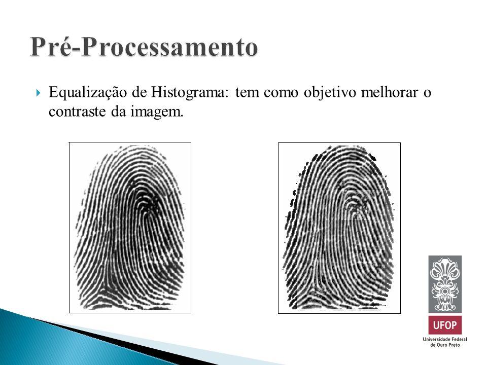 Equalização de Histograma: tem como objetivo melhorar o contraste da imagem.