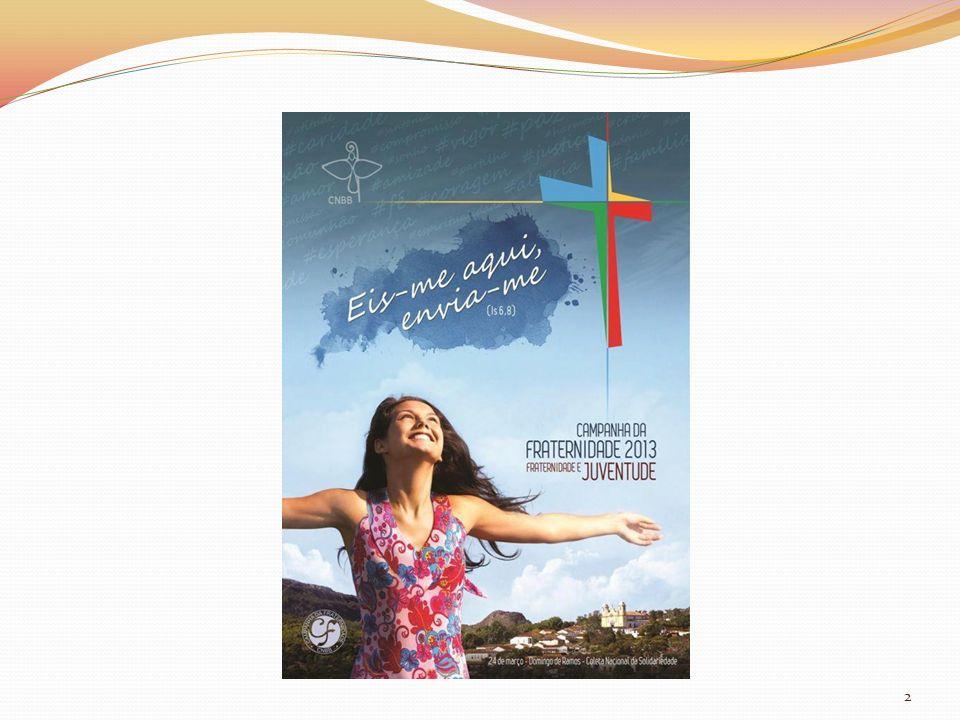 INTRODUÇÃO Juventude: Organização Internacional da Juventude - 15 a 24 anos No Brasil (Conselho Nacional da Juventude) – 15 a 29 anos Olhar a realidade do jovem Riqueza de suas diversidades, propostas e potencialidades Entendê-los e auxiliá-los Fazer-se solidária Reavivar o seu potencial de participação e transformação 3
