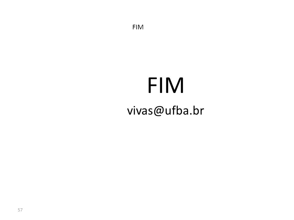 57 FIM vivas@ufba.br