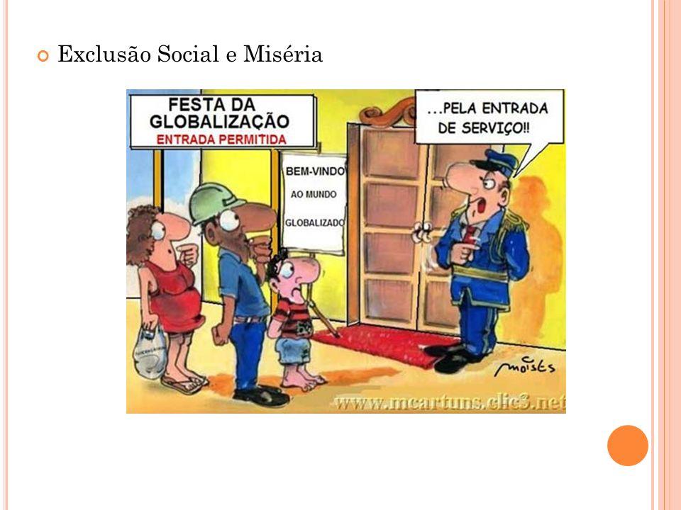 Exclusão Social e Miséria