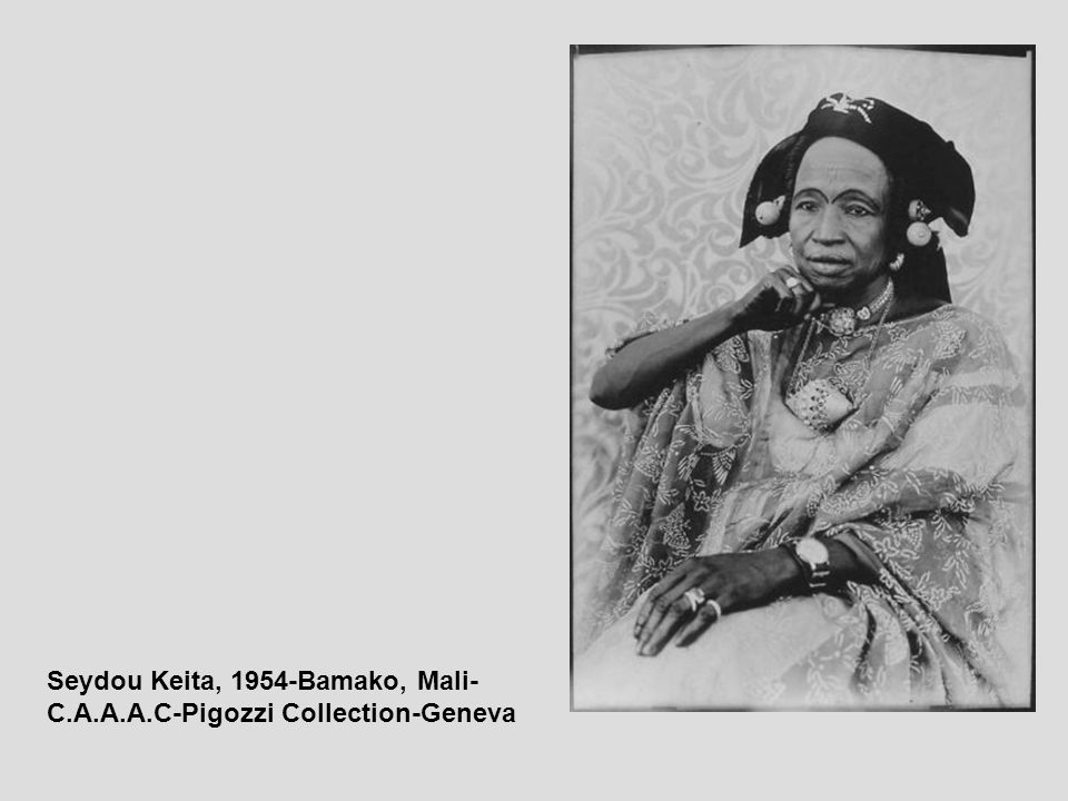 Seydou Keita, 1954-Bamako, Mali- C.A.A.A.C-Pigozzi Collection-Geneva