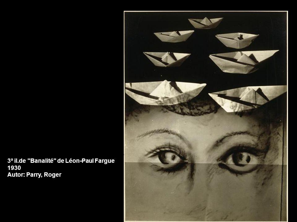 3ª il.de Banalité de Léon-Paul Fargue 1930 Autor: Parry, Roger