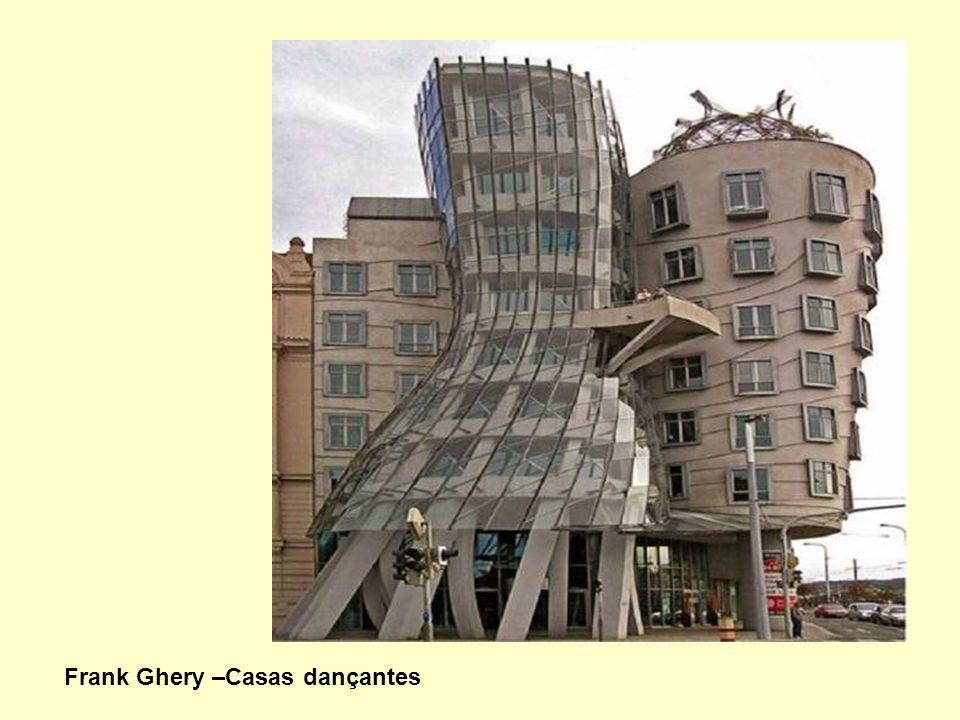 Frank Ghery –Casas dançantes