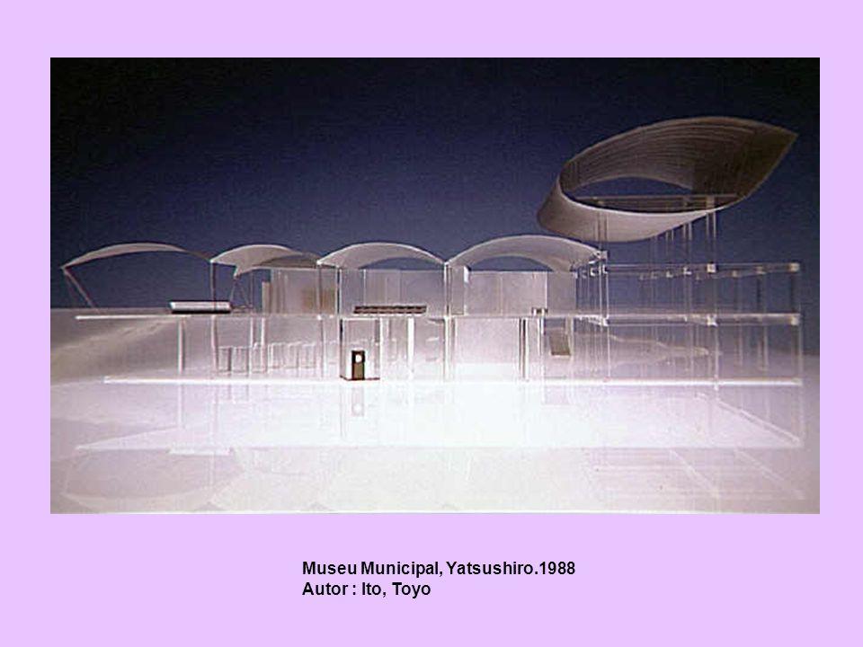 Museu Municipal, Yatsushiro.1988 Autor : Ito, Toyo