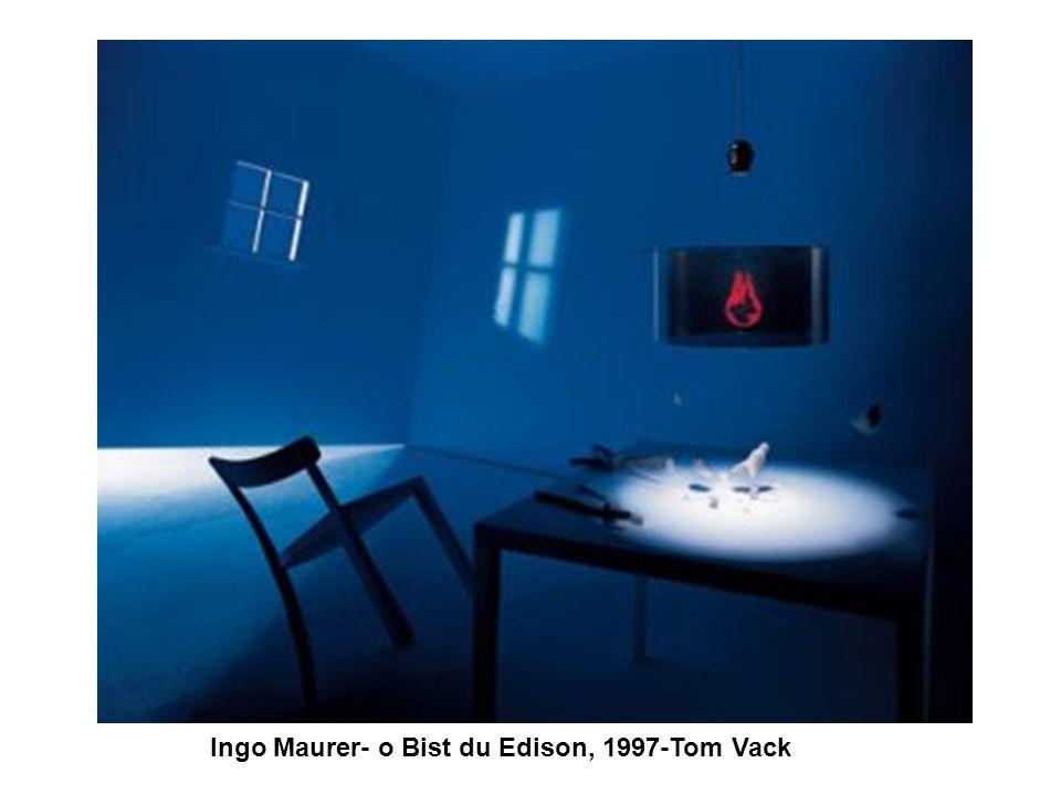 Ingo Maurer- o Bist du Edison, 1997-Tom Vack