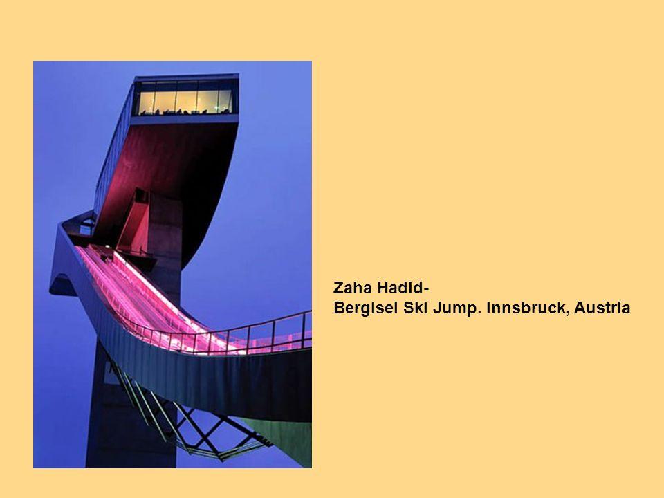 Zaha Hadid- Bergisel Ski Jump. Innsbruck, Austria