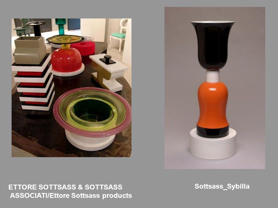 ETTORE SOTTSASS & SOTTSASS ASSOCIATI/Ettore Sottsass products Sottsass_Sybilla