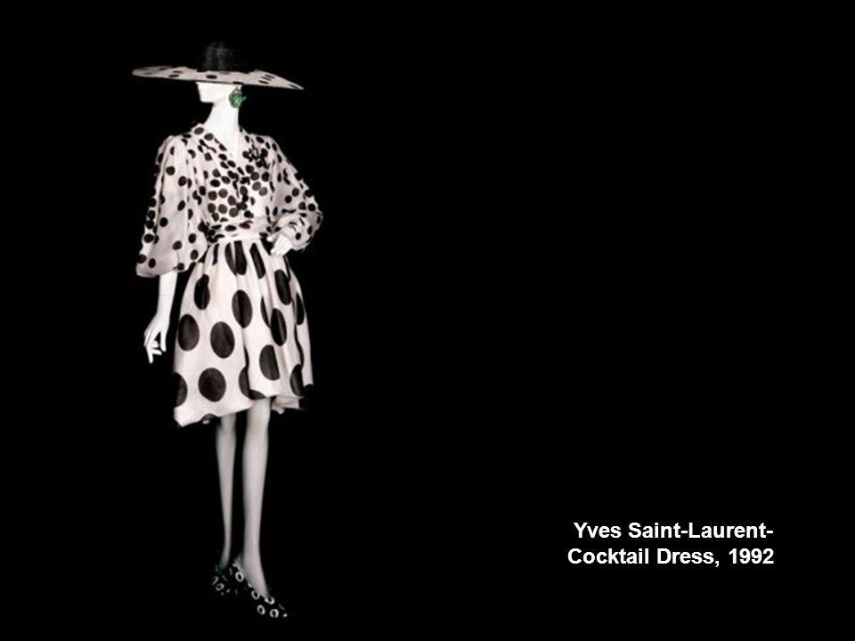 Yves Saint-Laurent- Cocktail Dress, 1992
