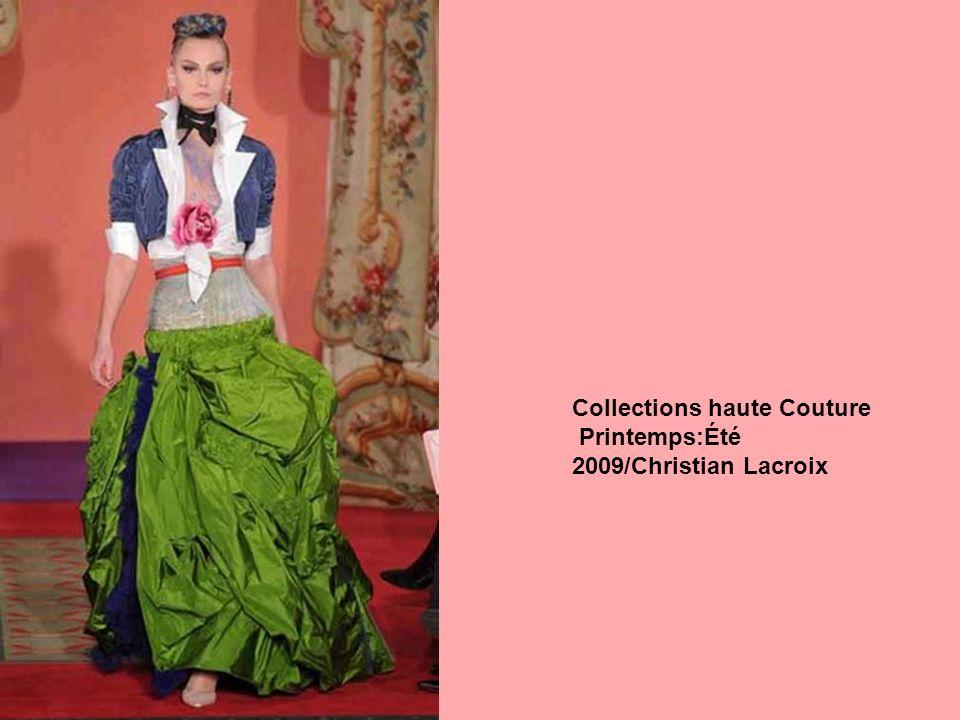 Collections haute Couture Printemps:Été 2009/Christian Lacroix