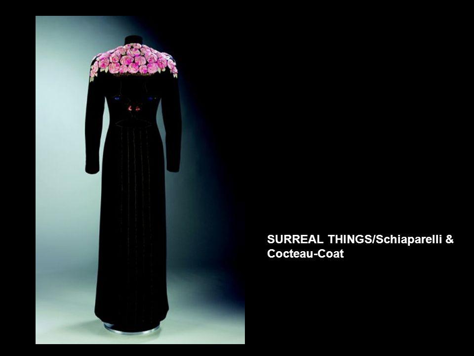 SURREAL THINGS/Schiaparelli & Cocteau-Coat