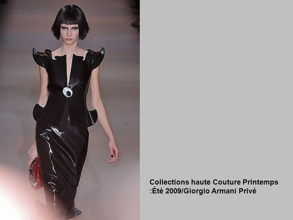 Collections haute Couture Printemps :Été 2009/Giorgio Armani Privé