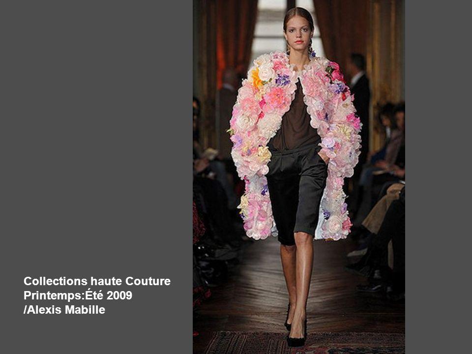 Collections haute Couture Printemps:Été 2009 /Alexis Mabille