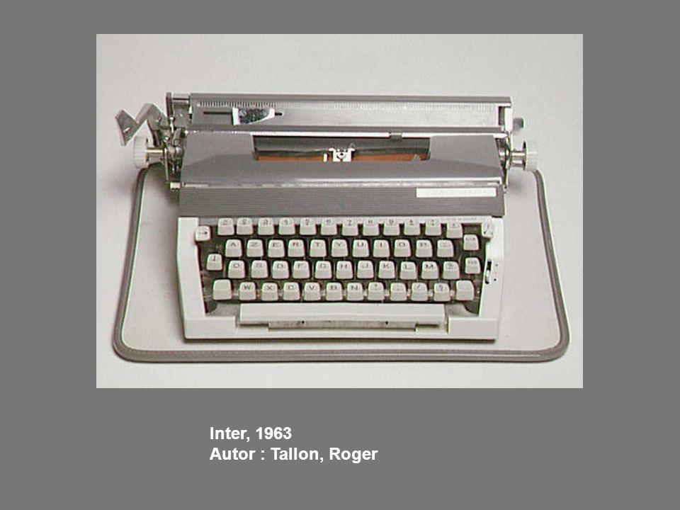 Inter, 1963 Autor : Tallon, Roger