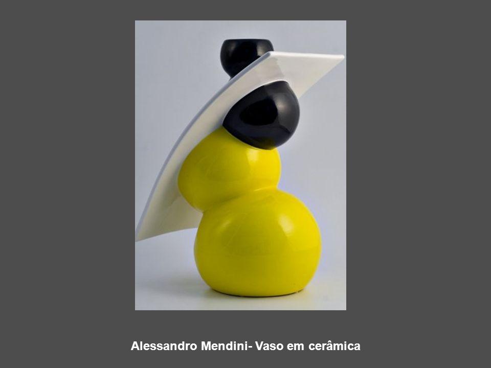 Alessandro Mendini- Vaso em cerâmica