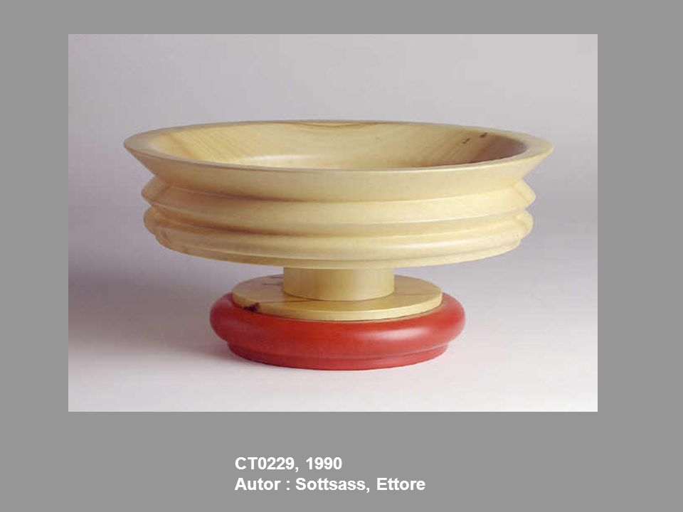 CT0229, 1990 Autor : Sottsass, Ettore