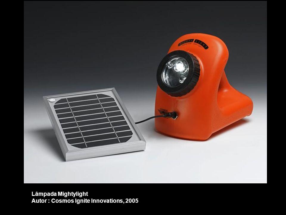 Lâmpada Mightylight Autor : Cosmos Ignite Innovations, 2005