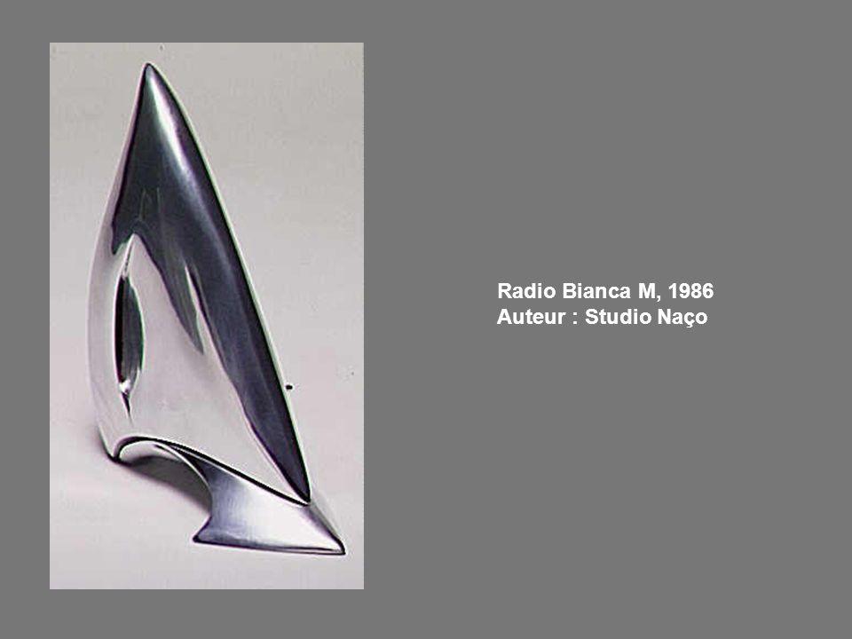 Radio Bianca M, 1986 Auteur : Studio Naço