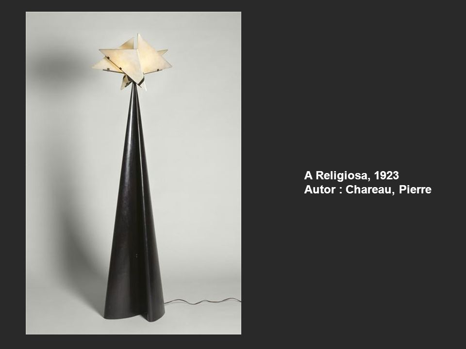 A Religiosa, 1923 Autor : Chareau, Pierre