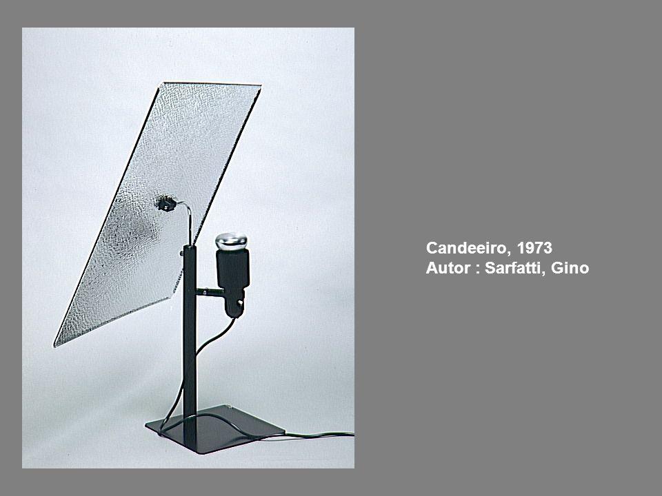 Candeeiro, 1973 Autor : Sarfatti, Gino