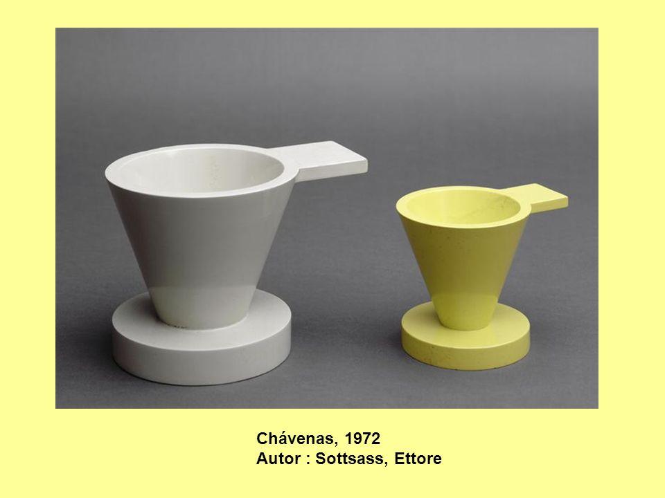 Chávenas, 1972 Autor : Sottsass, Ettore