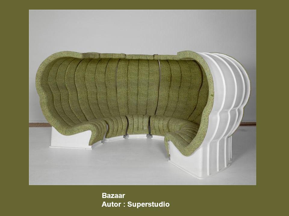 Bazaar Autor : Superstudio