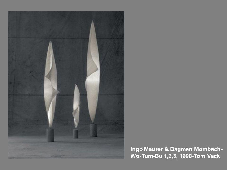 Ingo Maurer & Dagman Mombach- Wo-Tum-Bu 1,2,3, 1998-Tom Vack