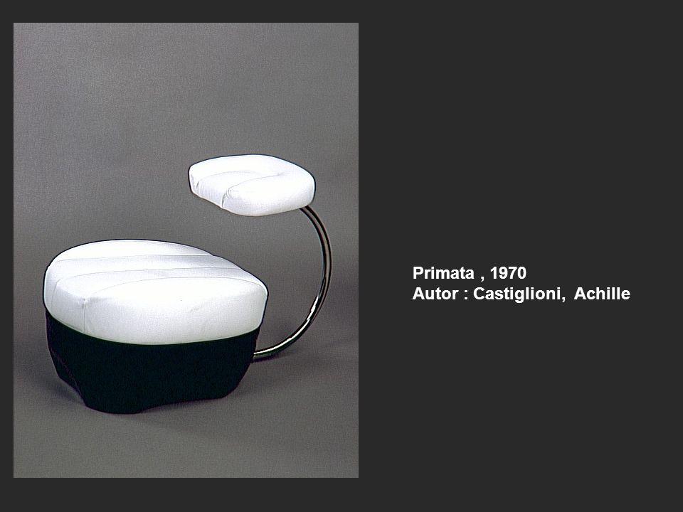 Primata, 1970 Autor : Castiglioni, Achille