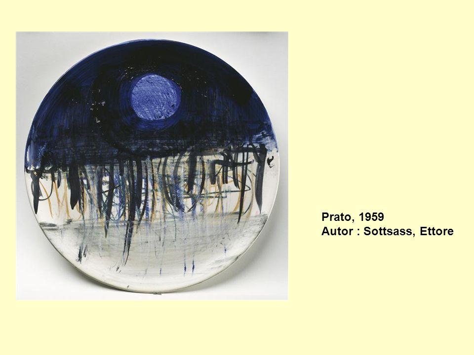 Prato, 1959 Autor : Sottsass, Ettore