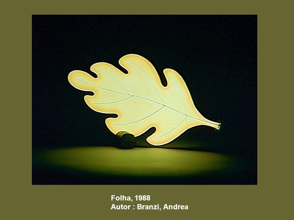 Folha, 1988 Autor : Branzi, Andrea