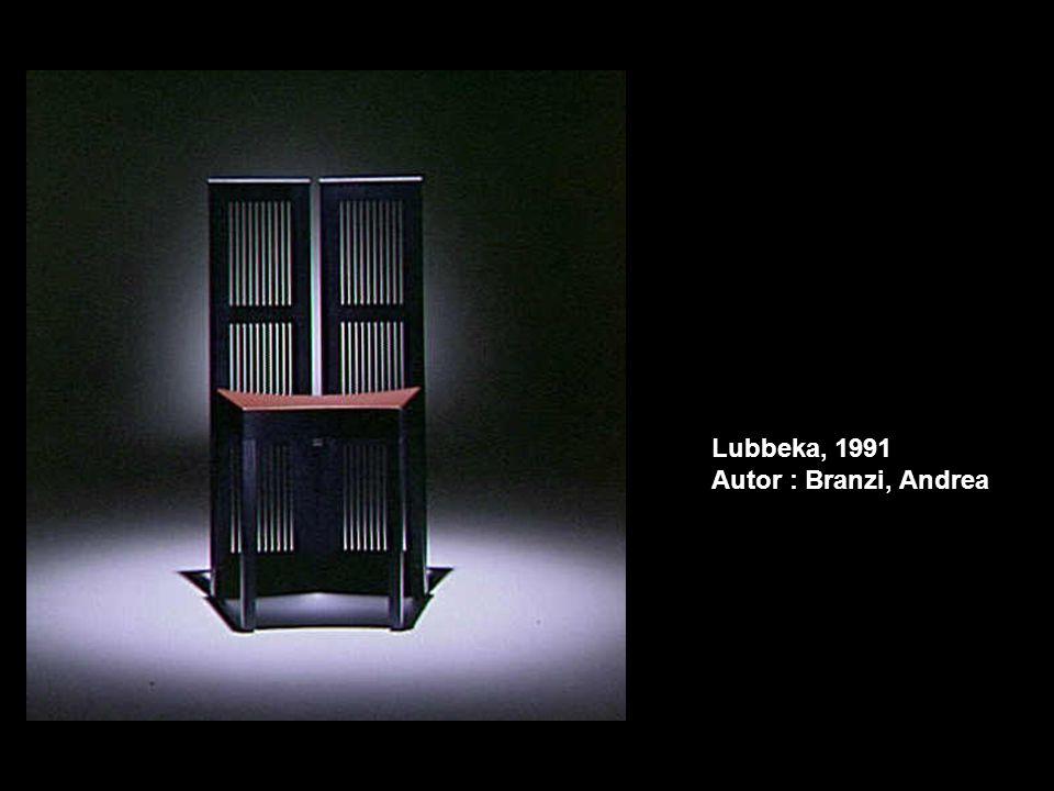 Lubbeka, 1991 Autor : Branzi, Andrea