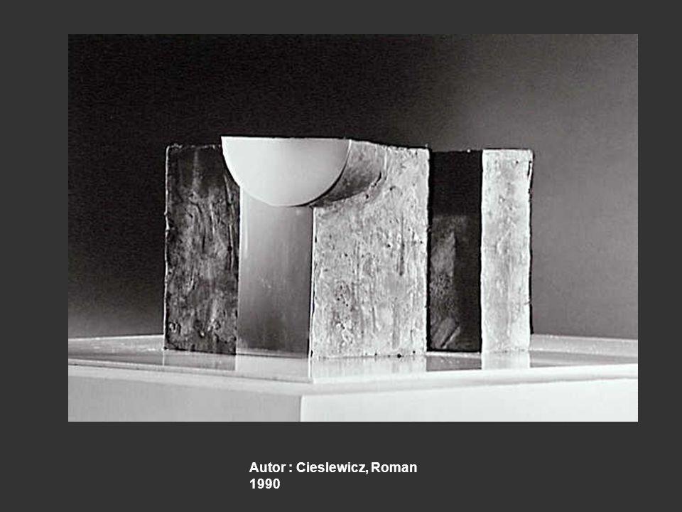 Autor : Cieslewicz, Roman 1990