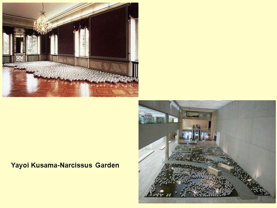 Yayoi Kusama-Narcissus Garden