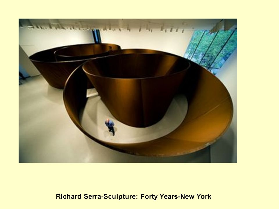 Richard Serra-Sculpture: Forty Years-New York